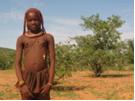 A Himba teenager, north of Opuwo, Namibia